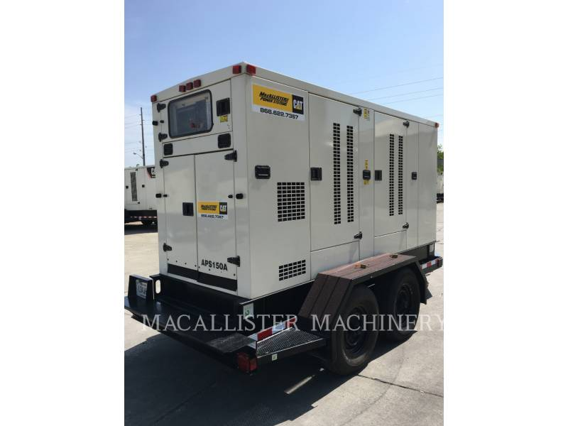 PERKINS PORTABLE GENERATOR SETS APS150 equipment  photo 14