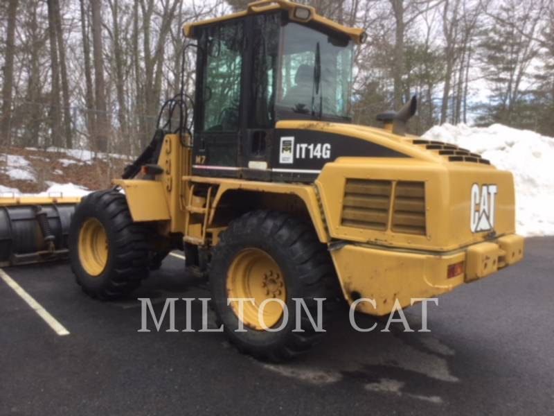 CATERPILLAR WHEEL LOADERS/INTEGRATED TOOLCARRIERS IT14G equipment  photo 3