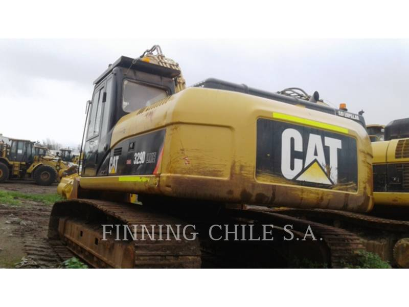 CATERPILLAR TRACK EXCAVATORS 329 D equipment  photo 3