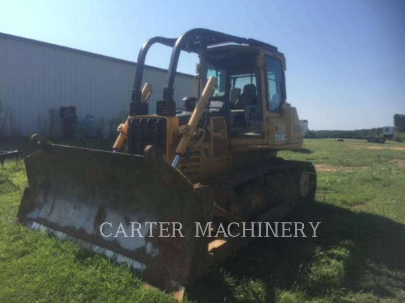 DEERE & CO. TRACK TYPE TRACTORS DER 750C equipment  photo 4