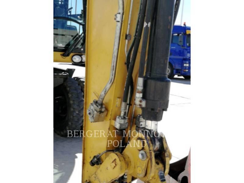 CATERPILLAR WHEEL EXCAVATORS M318D equipment  photo 11