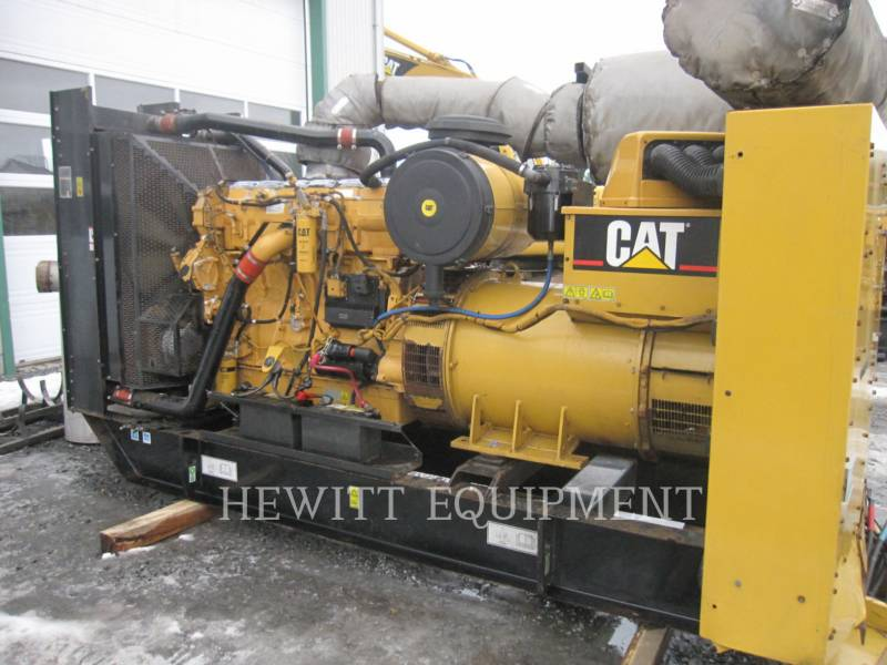 CATERPILLAR STATIONARY GENERATOR SETS C15, 454KW PRIME 480V equipment  photo 4