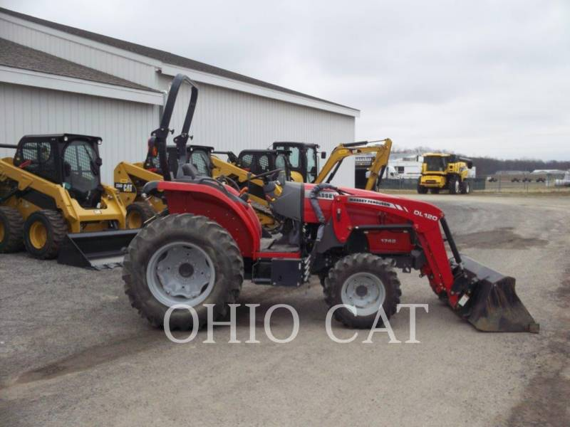 AGCO-MASSEY FERGUSON TRACTEURS AGRICOLES MF1742L equipment  photo 5