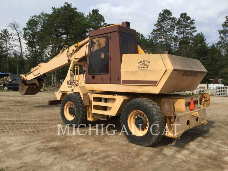 CASE ESCAVATORI GOMMATI 1085 BADGER equipment  photo 3