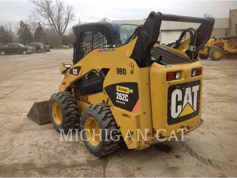 CATERPILLAR MINICARREGADEIRAS 262C AHQ equipment  photo 3