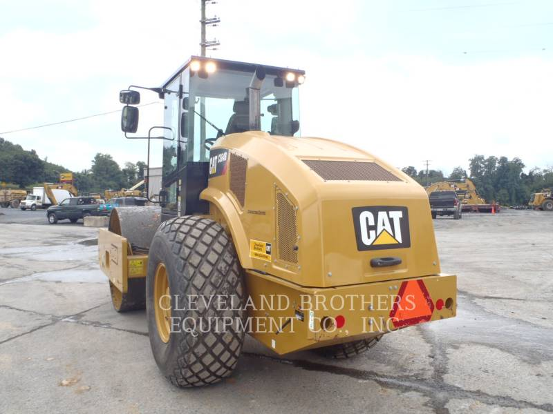 CATERPILLAR COMPACTEUR VIBRANT, MONOCYLINDRE LISSE CS64B equipment  photo 4