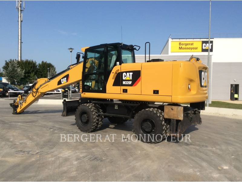 CATERPILLAR WHEEL EXCAVATORS M320F IVC equipment  photo 2