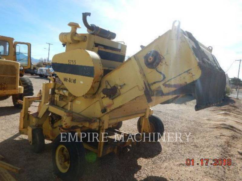 CATERPILLAR MACCHINE RACCOLTA DETRITI PAVIMENTAZIONE STRADALE WE-851B equipment  photo 7