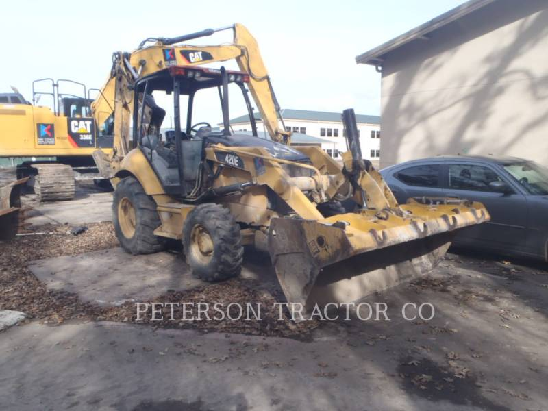CATERPILLAR BACKHOE LOADERS 420E ST equipment  photo 2
