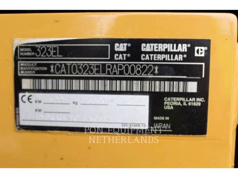 CATERPILLAR EXCAVADORAS DE CADENAS 323 EL equipment  photo 6