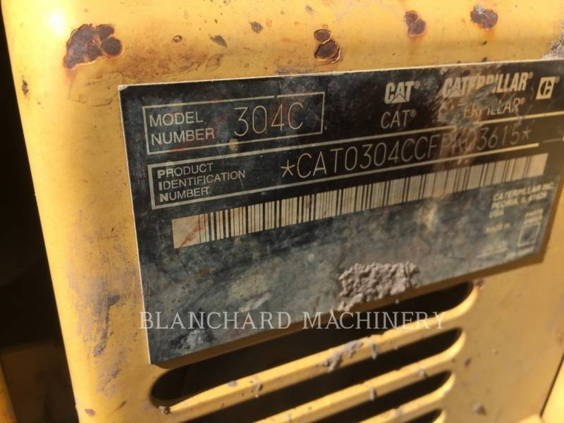 CATERPILLAR PELLES SUR CHAINES 304C CR equipment  photo 10