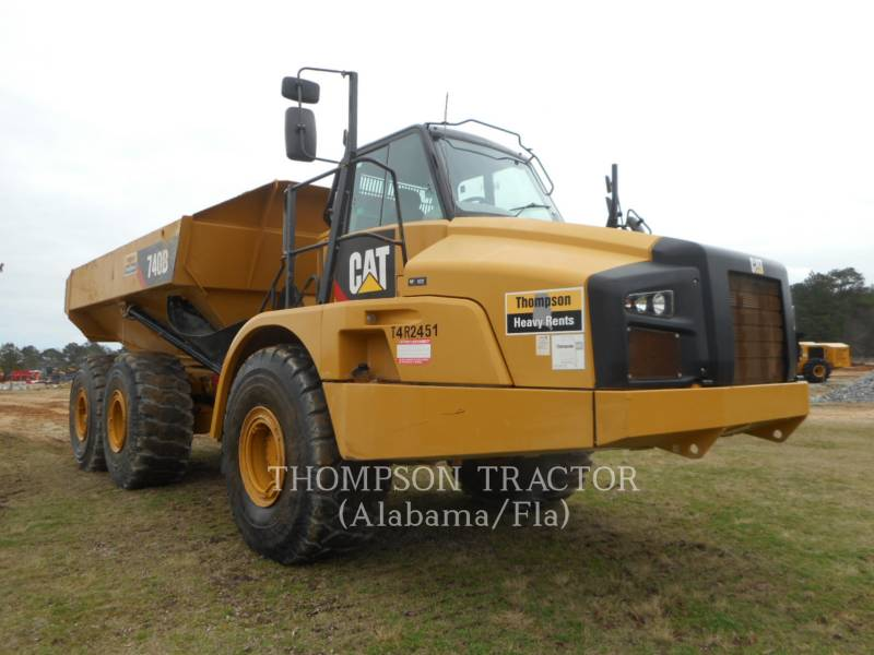 CATERPILLAR ARTICULATED TRUCKS 740B TGATE equipment  photo 6
