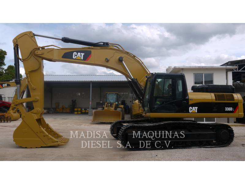 CATERPILLAR EXCAVADORAS DE CADENAS 336D equipment  photo 2
