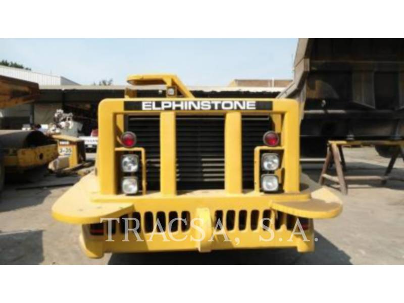 ELPHINSTONE UNDERGROUND MINING LOADER R1700 II equipment  photo 4