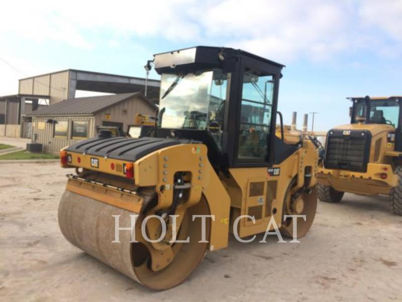 CATERPILLAR TAMBOR ÚNICO VIBRATORIO ASFALTO CB54B CAB equipment  photo 3