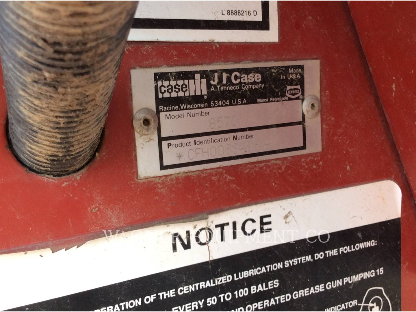 Detail photo of 1993 Case IH 8570 from Construction Equipment Guide