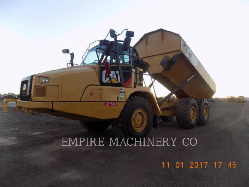 CATERPILLAR KNIKGESTUURDE TRUCKS 730C equipment  photo 2