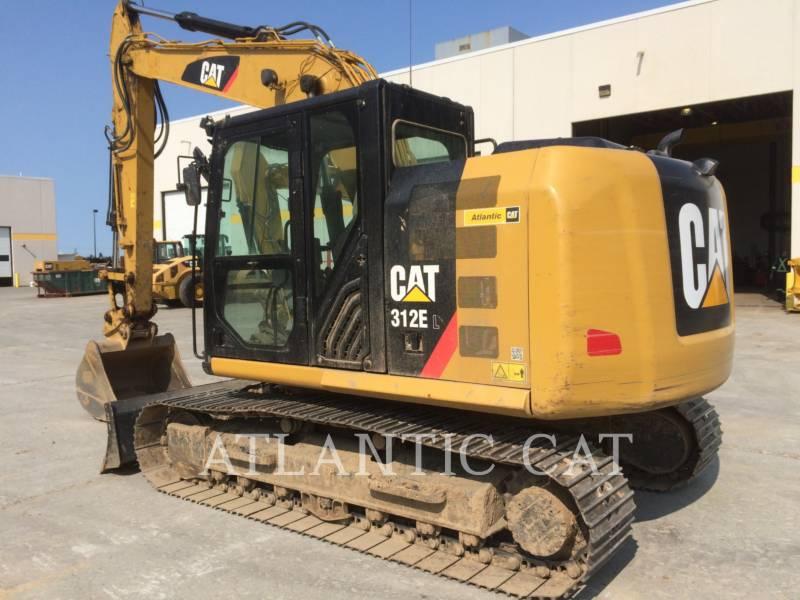 CATERPILLAR TRACK EXCAVATORS 312E equipment  photo 5