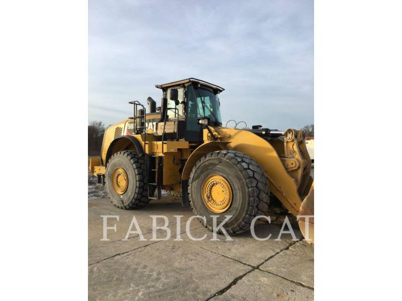 CATERPILLAR PALE GOMMATE/PALE GOMMATE MULTIUSO 980K equipment  photo 3