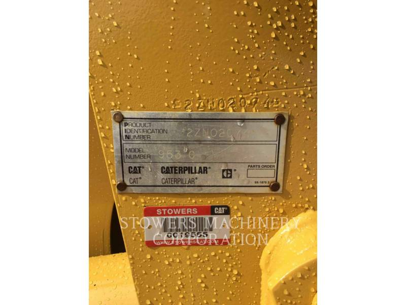 CATERPILLAR CARGADORES DE CADENAS 953C equipment  photo 22