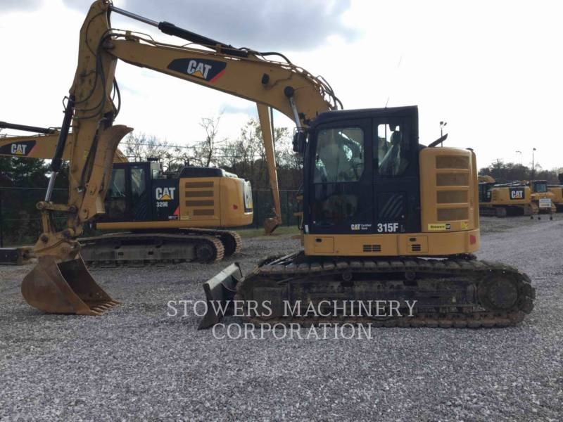 CATERPILLAR PELLES SUR CHAINES 315F equipment  photo 5