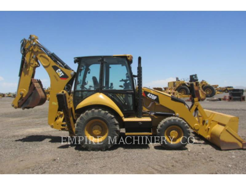 CATERPILLAR CHARGEUSES-PELLETEUSES 420F 4EC P equipment  photo 14