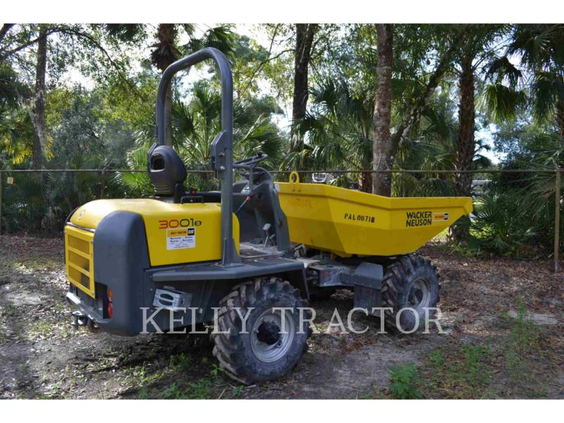 WACKER CORPORATION UTILITY VEHICLES / CARTS DUMPER3001 equipment  photo 1