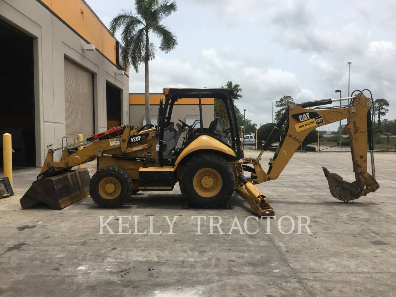 CATERPILLAR RETROESCAVADEIRAS 420FIT equipment  photo 2