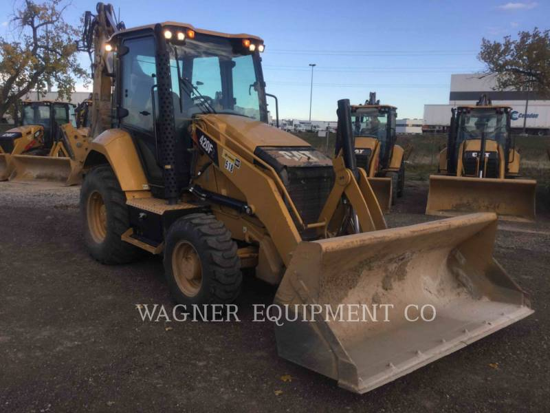 CATERPILLAR BAGGERLADER 420F2 4WDE equipment  photo 2