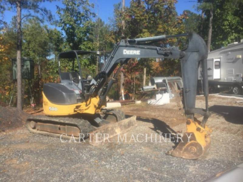 DEERE & CO. KETTEN-HYDRAULIKBAGGER DER 50D equipment  photo 1