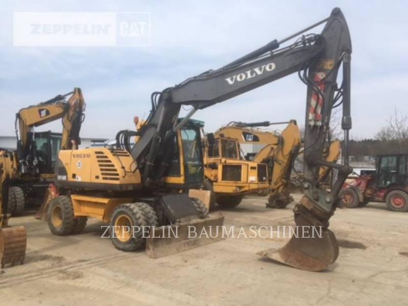 VOLVO CONSTRUCTION EQUIPMENT WHEEL EXCAVATORS EW160B equipment  photo 3
