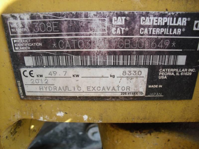 CATERPILLAR PELLES SUR CHAINES 308ECRSB equipment  photo 20