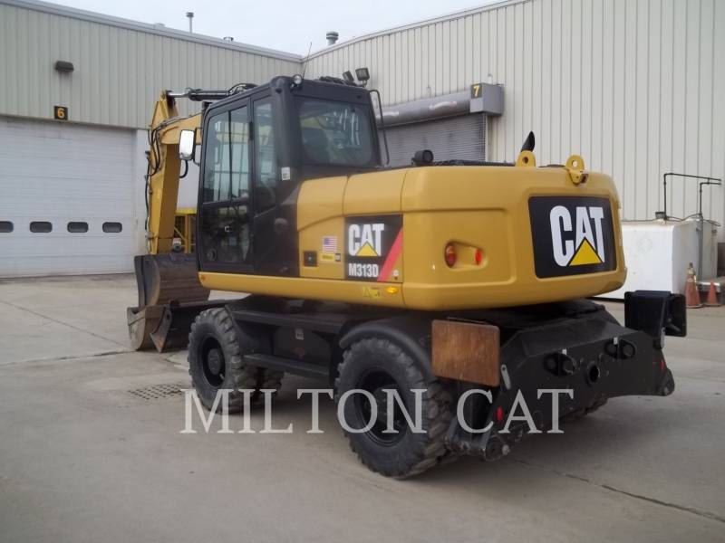 CATERPILLAR EXCAVADORAS DE RUEDAS M313D equipment  photo 3