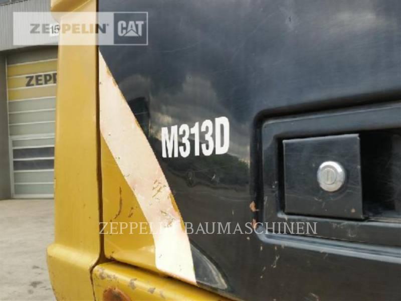 CATERPILLAR WHEEL EXCAVATORS M313D equipment  photo 22