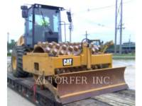 CATERPILLAR VIBRATORY SINGLE DRUM SMOOTH CP56B equipment  photo 4