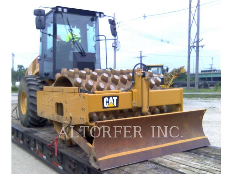 CATERPILLAR EINZELVIBRATIONSWALZE, BANDAGE CP56B equipment  photo 4