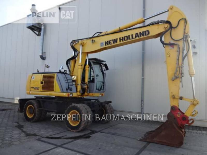 NEW HOLLAND ESCAVATORI GOMMATI MH5.6 equipment  photo 6
