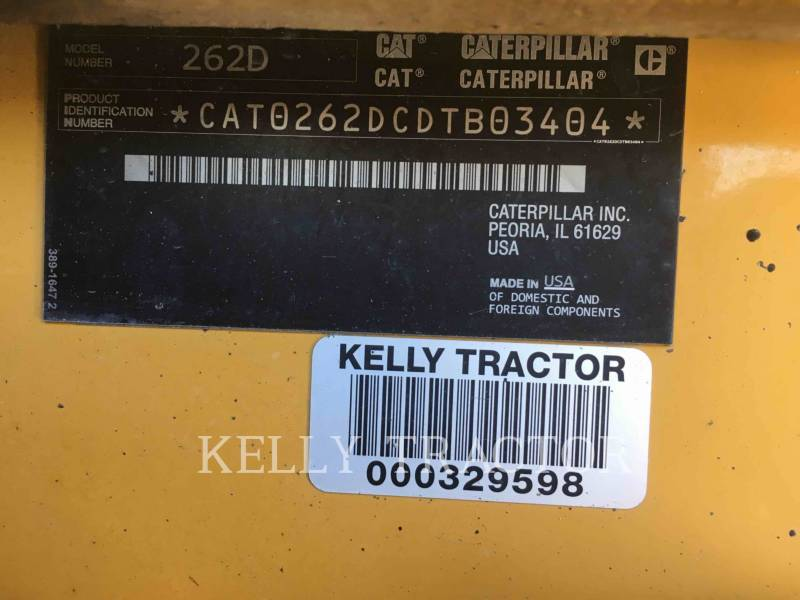 CATERPILLAR CHARGEURS COMPACTS RIGIDES 262D equipment  photo 13