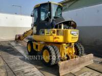 Equipment photo KOMATSU PW 98 MR-6 轮式挖掘机 1