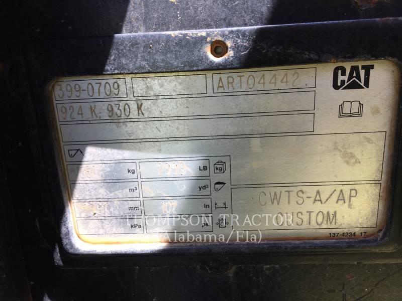 CATERPILLAR WHEEL LOADERS/INTEGRATED TOOLCARRIERS 924K equipment  photo 11