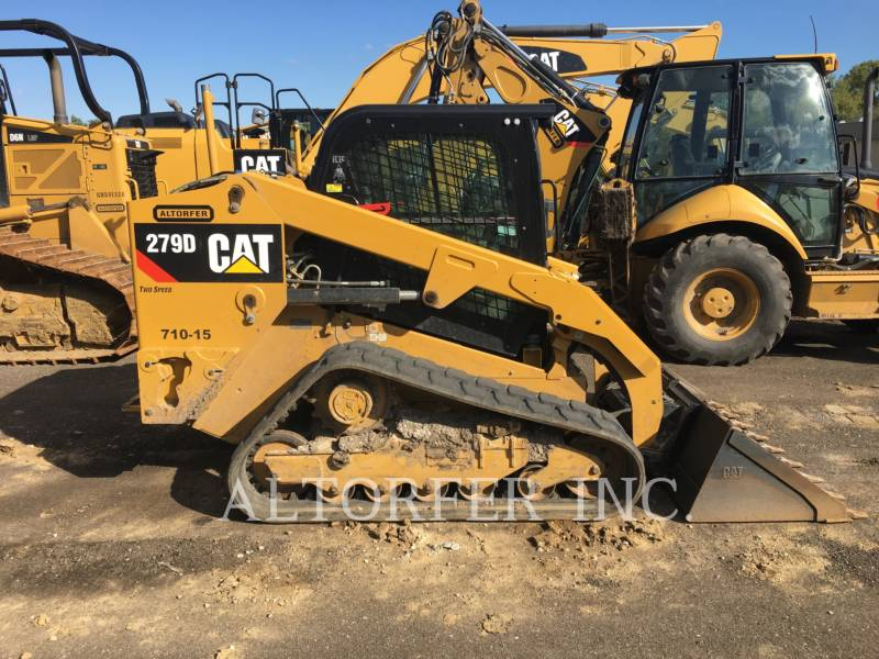 CATERPILLAR SKID STEER LOADERS 279D equipment  photo 6
