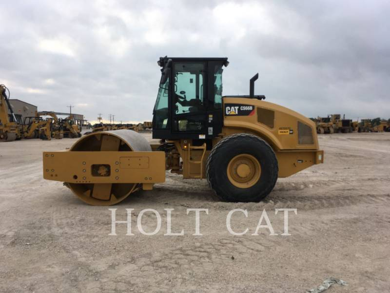 CATERPILLAR EINZELVIBRATIONSWALZE, GLATTBANDAGE CS66B CAB equipment  photo 2