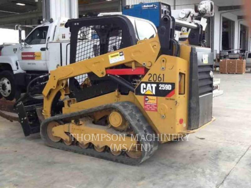 CATERPILLAR MINICARREGADEIRAS 259D equipment  photo 2