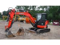 Equipment photo KUBOTA CANADA LTD. U55 TRACK EXCAVATORS 1