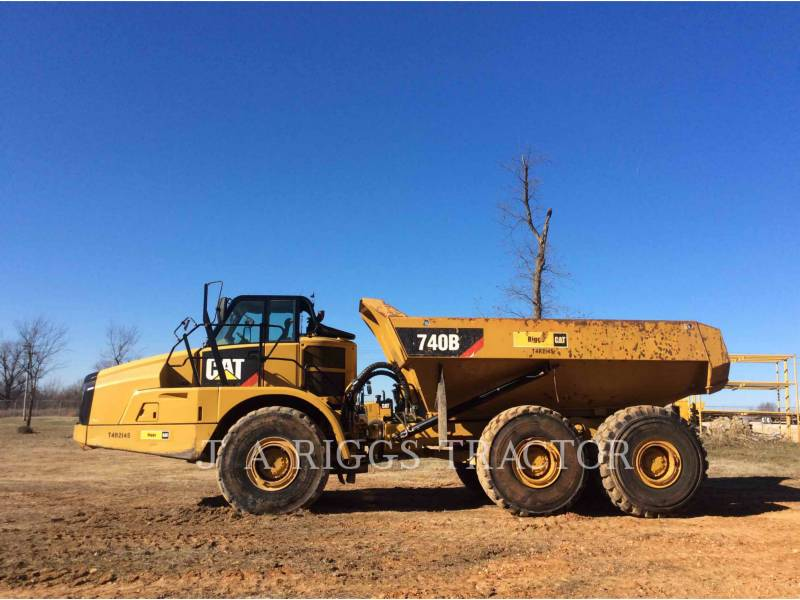 CATERPILLAR ダンプ・トラック 740B equipment  photo 3
