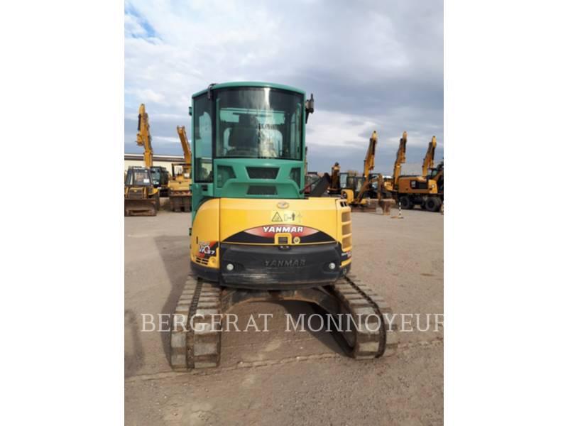 YANMAR TRACK EXCAVATORS VIO57U equipment  photo 5
