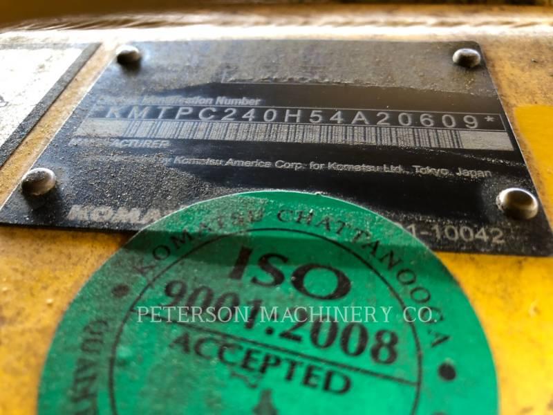 KOMATSU LTD. LOG LOADERS PC240LL equipment  photo 7