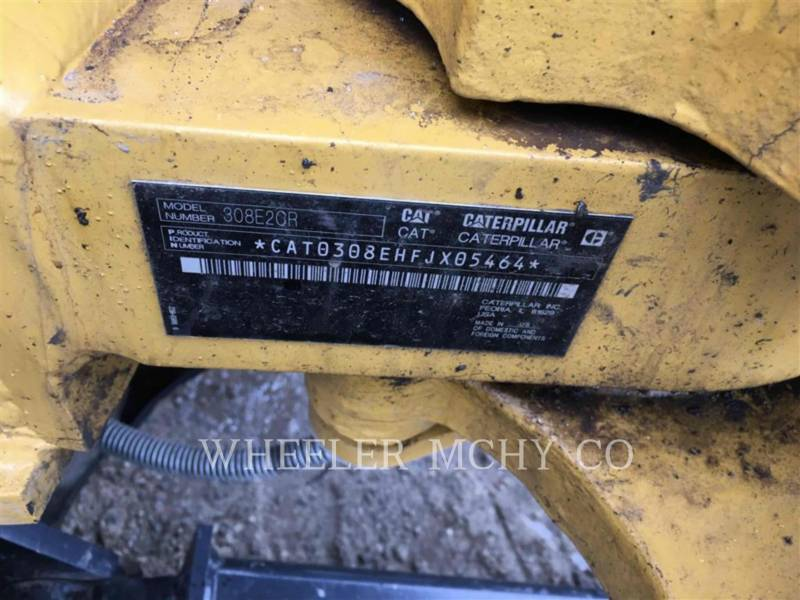 CATERPILLAR EXCAVADORAS DE CADENAS 308E2 TH equipment  photo 9