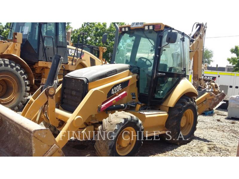 CATERPILLAR BAGGERLADER 420E equipment  photo 1
