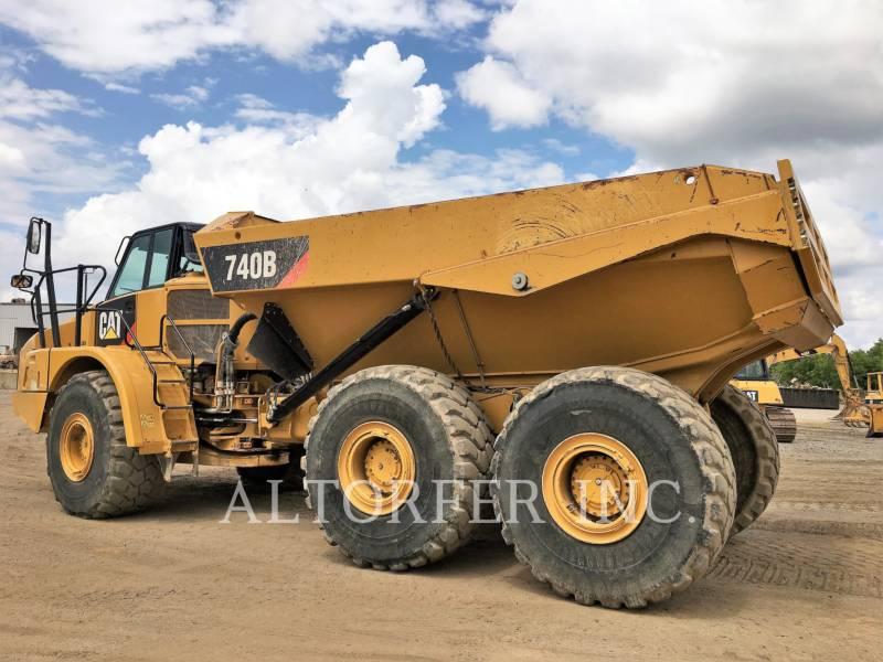 CATERPILLAR KNICKGELENKTE MULDENKIPPER 740B equipment  photo 2